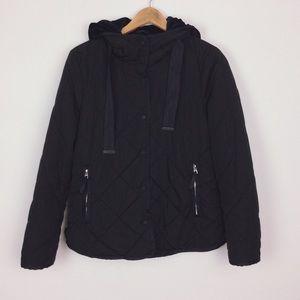 Zara TRF quilted winter jacket